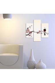 Tablou decorativ (3 bucati) Three Art 251TRE1930 multicolor