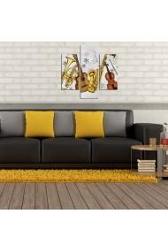 Tablou decorativ (3 bucati) Three Art 251TRE1931 multicolor
