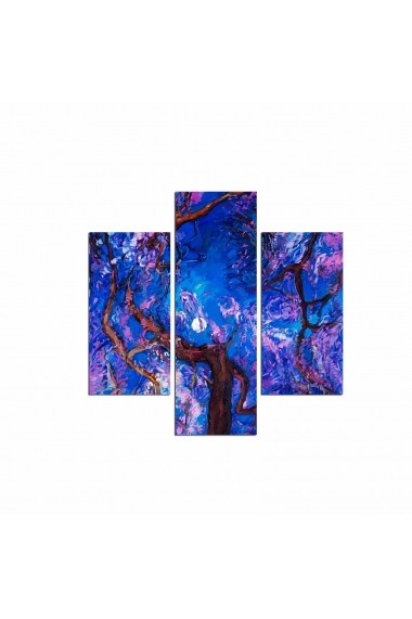Tablou decorativ (3 bucati) Three Art 251TRE1935 multicolor