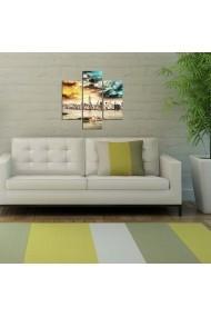 Tablou decorativ (3 bucati) Three Art 251TRE1939 multicolor