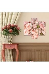 Tablou decorativ (3 bucati) Three Art 251TRE1940 multicolor