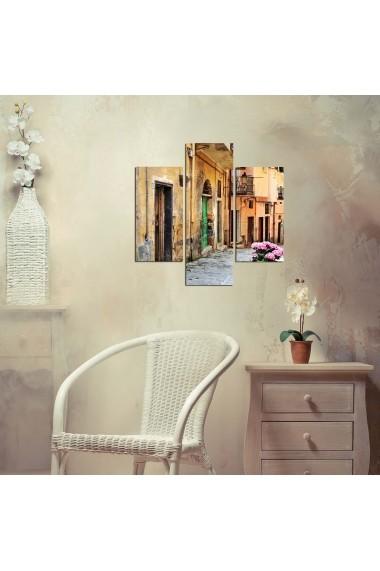 Tablou decorativ (3 bucati) Three Art 251TRE1943 multicolor