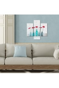 Tablou decorativ (3 bucati) Three Art 251TRE1944 multicolor