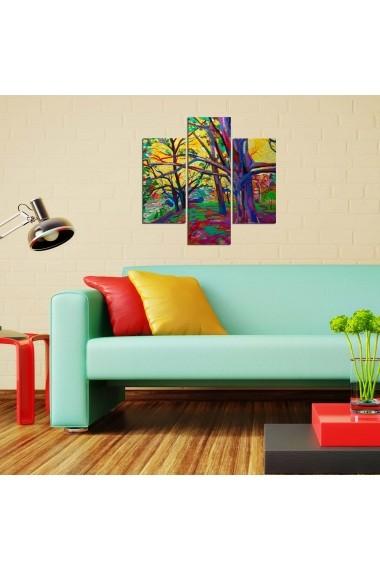 Tablou decorativ (3 bucati) Three Art 251TRE1945 multicolor