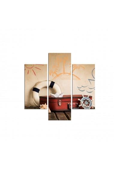 Tablou decorativ (3 bucati) Three Art 251TRE1950 multicolor