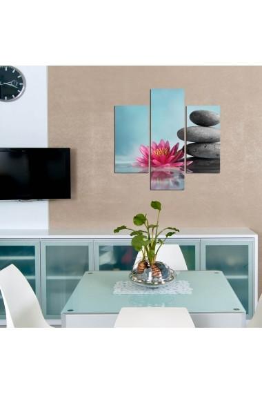 Tablou decorativ (3 bucati) Three Art 251TRE1955 multicolor