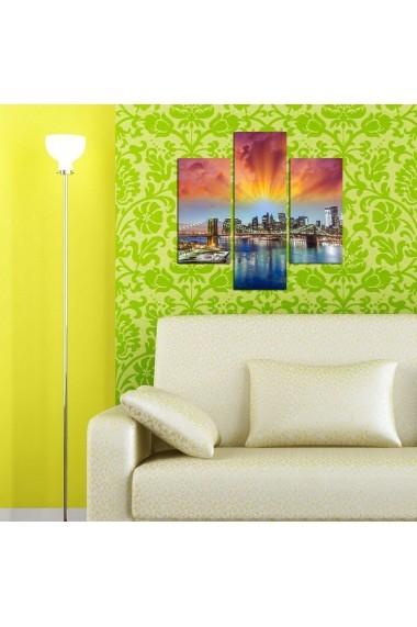 Tablou decorativ (3 bucati) Three Art 251TRE1963 multicolor