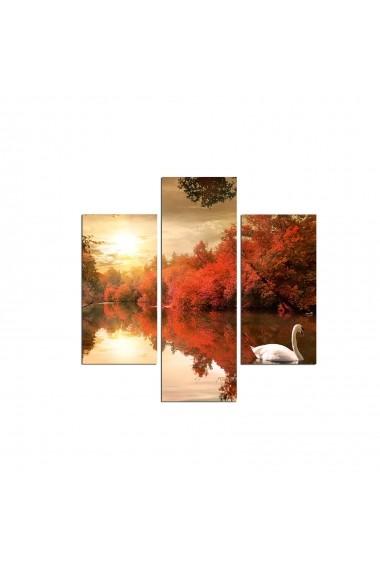 Tablou decorativ (3 bucati) Three Art 251TRE1967 multicolor