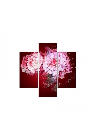 Tablou decorativ (3 bucati) Three Art 251TRE1972 multicolor
