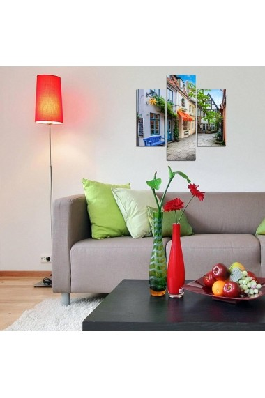 Tablou decorativ (3 bucati) Three Art 251TRE1976 multicolor