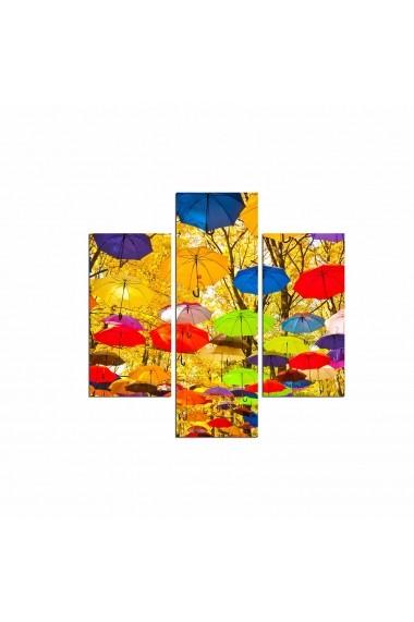 Tablou decorativ (3 bucati) Three Art 251TRE1980 multicolor