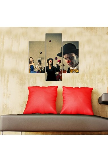 Tablou decorativ (3 bucati) Three Art 251TRE1981 multicolor
