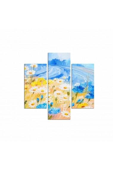 Tablou decorativ (3 bucati) Three Art 251TRE1982 multicolor