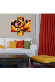 Tablou decorativ (3 bucati) Three Art 251TRE1989 multicolor
