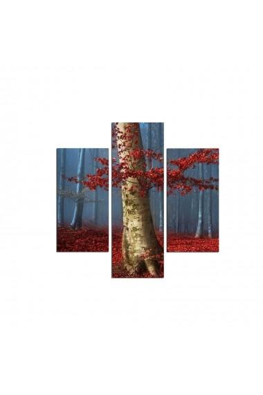 Tablou decorativ (3 bucati) Three Art 251TRE1990 multicolor