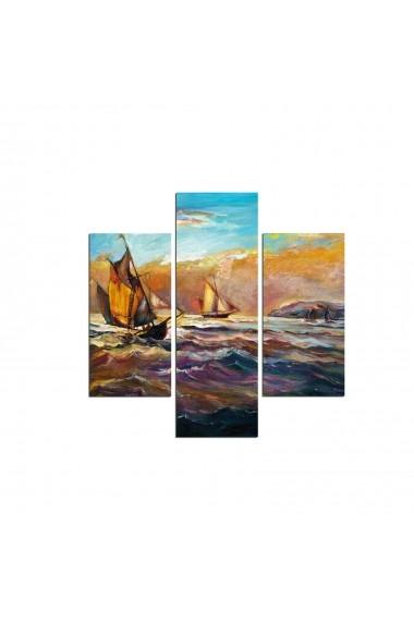 Tablou decorativ (3 bucati) Three Art 251TRE1993 multicolor