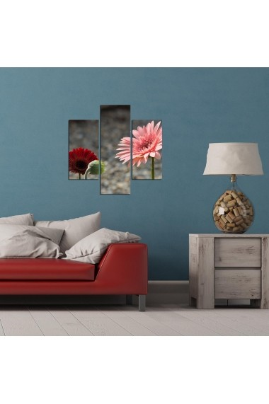 Tablou decorativ (3 bucati) Three Art 251TRE1997 multicolor