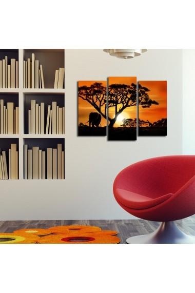 Tablou decorativ (3 bucati) Sightly 252SGH1255 multicolor