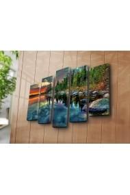 Tablou decorativ (5 bucati) Sightly 252SGH1314 multicolor