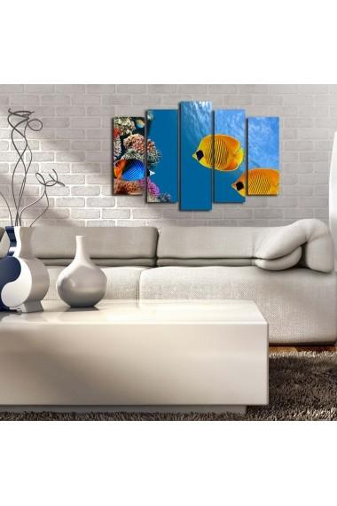 Tablou decorativ (5 bucati) Sightly 252SGH1320 multicolor