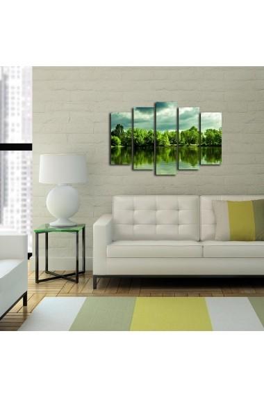 Tablou decorativ (5 bucati) Sightly 252SGH1324 multicolor