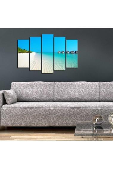 Tablou decorativ (5 bucati) Sightly 252SGH1325 multicolor