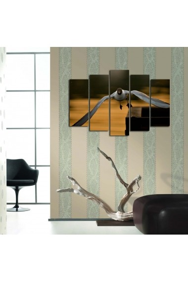 Tablou decorativ (5 bucati) Sightly 252SGH1327 multicolor