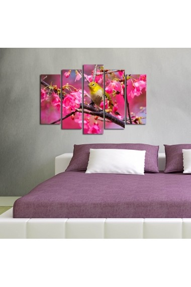 Tablou decorativ (5 bucati) Sightly 252SGH1330 multicolor