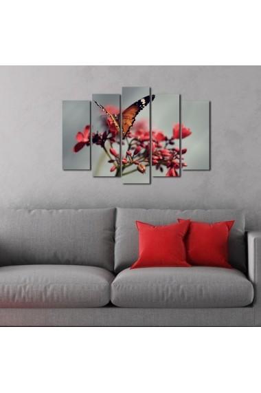 Tablou decorativ (5 bucati) Sightly 252SGH1333 multicolor