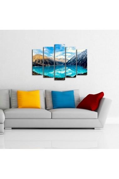 Tablou decorativ (5 bucati) Sightly 252SGH1345 multicolor