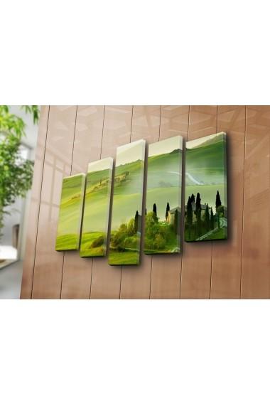 Tablou decorativ (5 bucati) Sightly 252SGH1347 multicolor