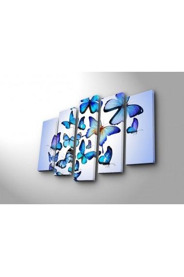 Tablou decorativ (5 bucati) Sightly 252SGH1310 multicolor