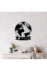 Accesoriu decorativ Ocean 874OCN1047 negru