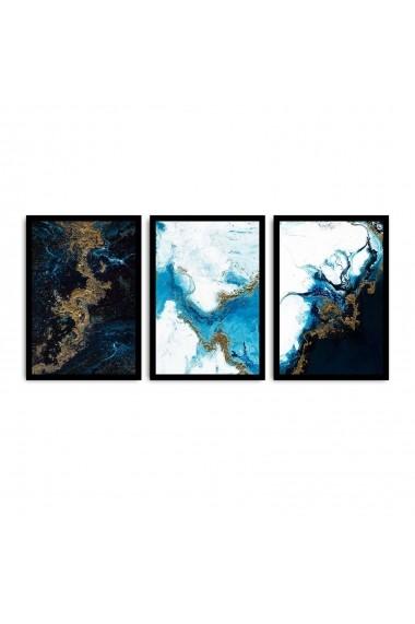 Tablou decorativ (3 bucati) Alpyros 841APY3101 multicolor