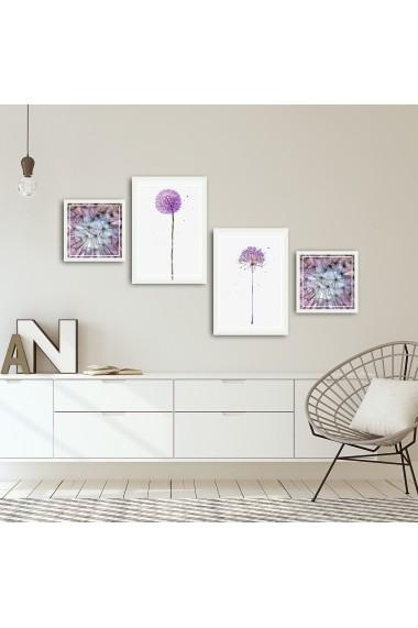 Tablou decorativ (4 bucati) Alpyros 841APY1003 multicolor