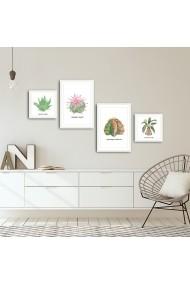 Tablou decorativ (4 bucati) Alpyros 841APY1005 multicolor