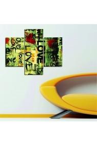 Tablou decorativ (3 bucati) Allure 221ALL1922 multicolor