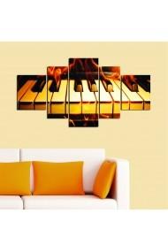 Tablou decorativ (5 bucati) Allure 221ALL1994 multicolor