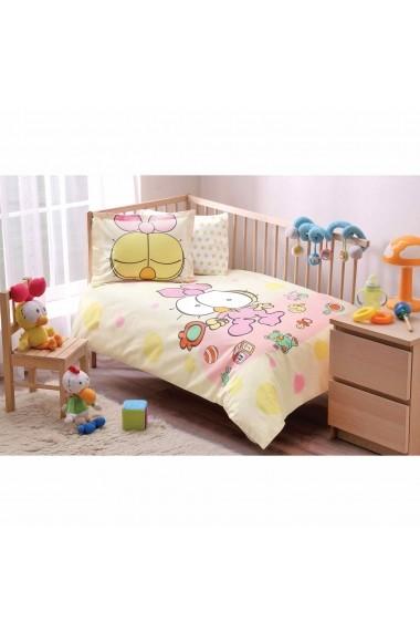 Set lenjerie de pat pentru copii Tac 144TAC1064 Multicolor
