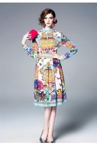 Rochie Kaimilan QM003 multicolor - els