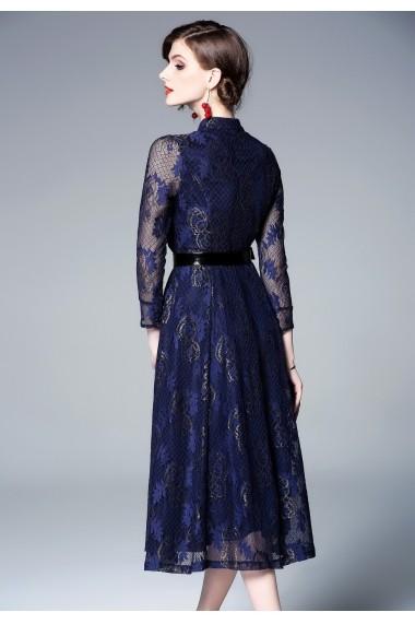 Rochie Kaimilan QM005 albastru - els