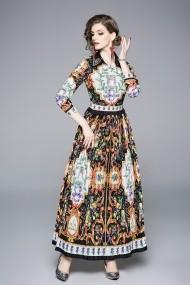 Rochie Ferraga QS372 Floral - els
