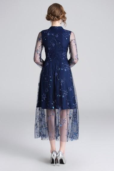 Rochie Ferraga QM175 albastru - els