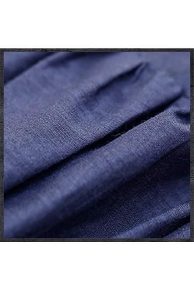 Camasa Keer Qiaowa B9535 Albastru