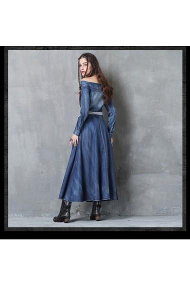 Rochie Keer Qiaowa 82050 Albastru - els