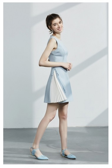 Rochie Keer Qiaowa 68036 Albastru - els