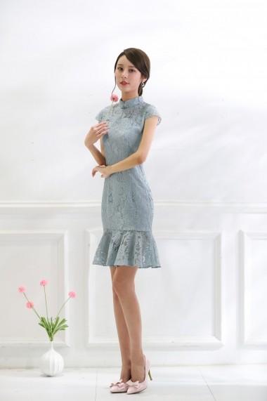 Rochie Keer Qiaowa 68001 Albastru - els