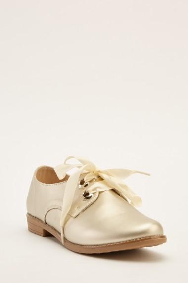 Pantofi 640947-268748 Auriu - els