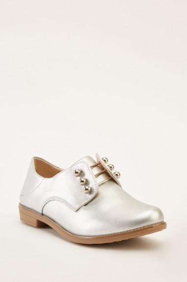 Pantofi 641265-269327 Argintiu