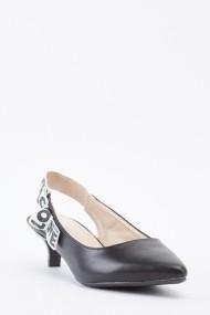 Pantofi cu toc cu toc 642169-271191 Negru